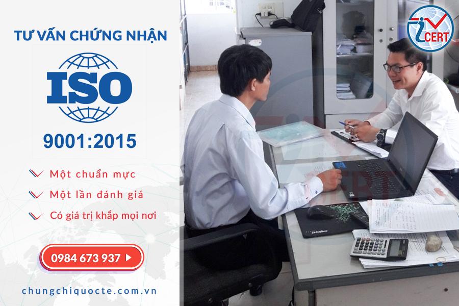 Dịch vụ tư vấn và chứng nhận ISO 9001