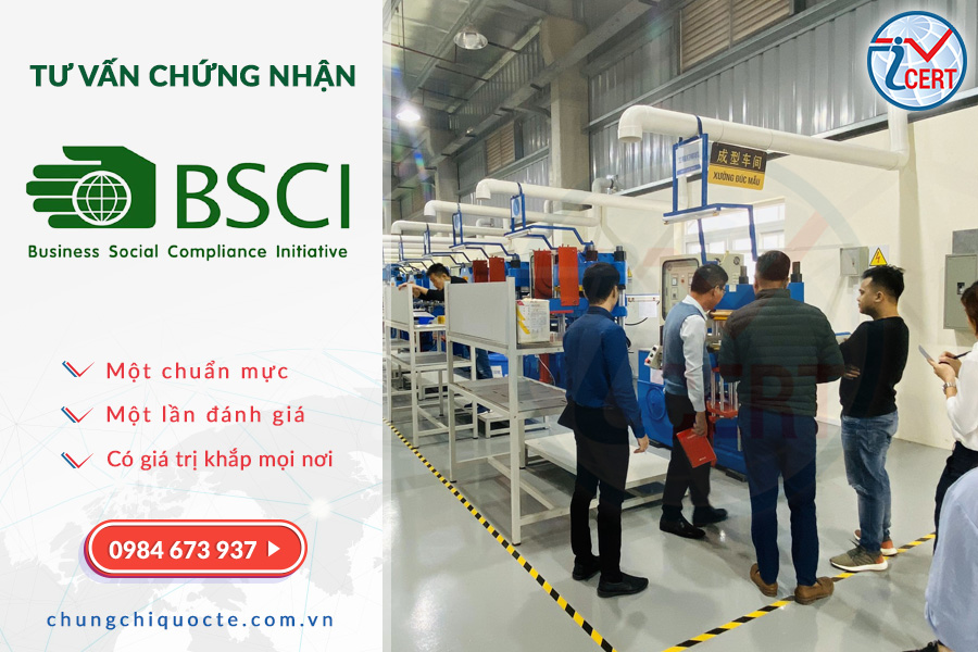 Dịch vụ tư vấn, đào tạo chứng nhận BSCI