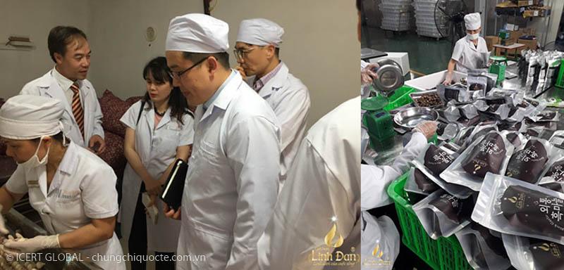tư vấn chứng nhận iso 22000 - icert global nhà máy sản xuất