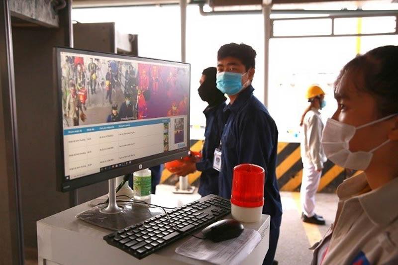 Kiểm soát dịch Covid-19 tại cổng A1 NMLD Dung Quất trong đợt BDTT lần 4 năm 2020