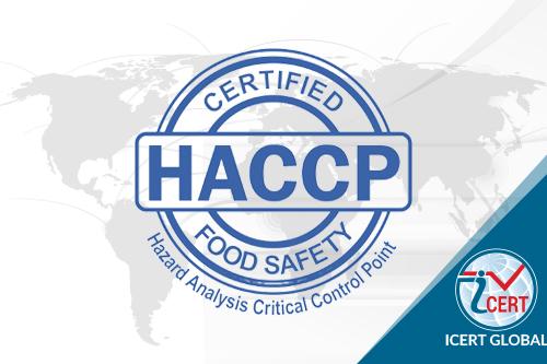 Icert Global tư vấn chứng nhận HACCP
