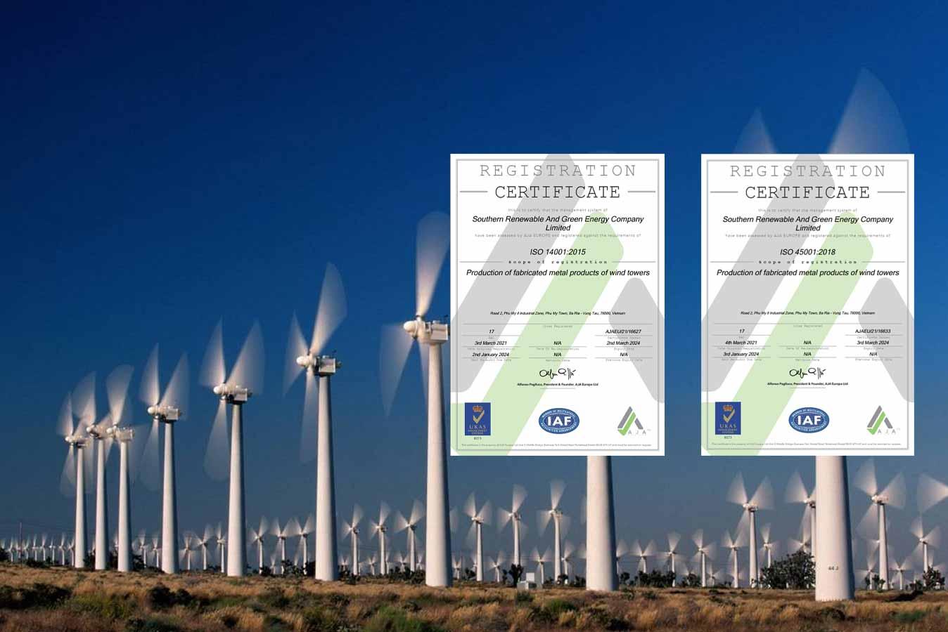 ICERT GLOBAL tư vấn chứng nhận tích hợp ISO 45001 và ISO 14001 tại SRE