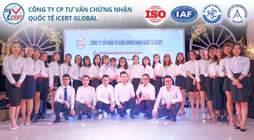 Giới thiệu về Công ty CP Tư vấn Chứng nhận Quốc tế Icert Global