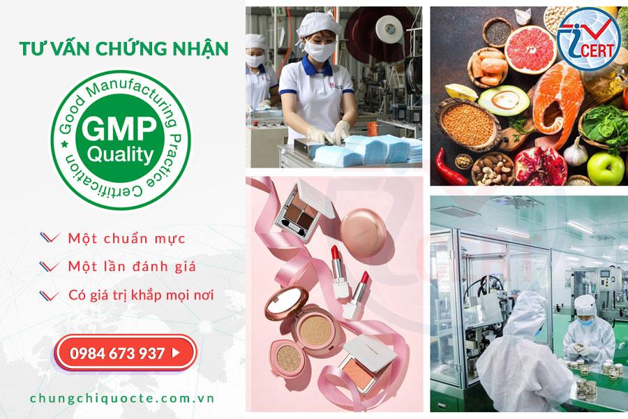 Dịch vụ tư vấn chứng nhận GMP - Tiêu chuẩn Thực hành Sản xuất tốt.